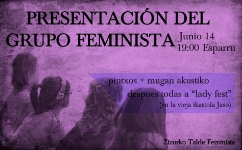 presentacion del grupo feminsta-1